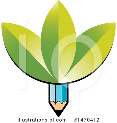 Writing Clipart #1470412 by Lal Perera