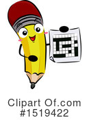 Royalty-Free (RF) Pencil Clipart Illustration #1519422