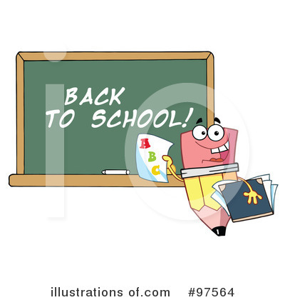 Pencil Clipart #97564 by Hit Toon