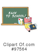 Royalty-Free (RF) Pencil Clipart Illustration #97564