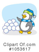 Penguin Clipart #1053617 by Any Vector