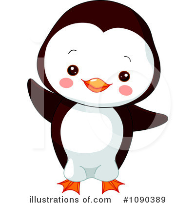 Penguin Clipart #1090389 by Pushkin