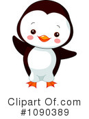 Royalty-Free (RF) penguin Clipart Illustration #1090389