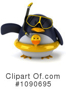 Royalty-Free (RF) Penguin Clipart Illustration #1090695