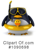 Royalty-Free (RF) Penguin Clipart Illustration #1090698