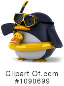 Royalty-Free (RF) Penguin Clipart Illustration #1090699