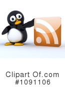 Penguin Clipart #1091106 by KJ Pargeter