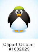 Penguin Clipart #1092029 by michaeltravers