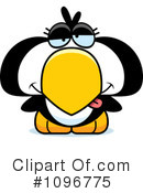 Royalty-Free (RF) penguin Clipart Illustration #1096775