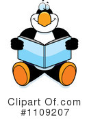 Penguin Clipart #1109207 by Cory Thoman