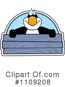 Royalty-Free (RF) Penguin Clipart Illustration #1109208