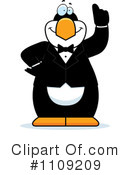 Penguin Clipart #1109209 by Cory Thoman