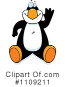 Penguin Clipart #1109211 by Cory Thoman