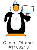 Penguin Clipart #1109213 by Cory Thoman