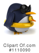 Penguin Clipart #1110090 by Julos