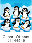 Penguin Clipart #1144546 by visekart