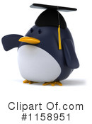Penguin Clipart #1158951 by Julos