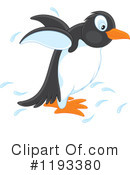 Penguin Clipart #1193380 by Alex Bannykh