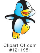Penguin Clipart #1211951 by Lal Perera