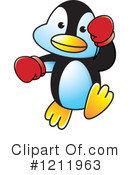 Penguin Clipart #1211963 by Lal Perera
