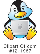 Penguin Clipart #1211967 by Lal Perera