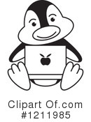 Penguin Clipart #1211985 by Lal Perera