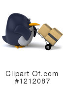 Penguin Clipart #1212087 by Julos