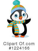 Penguin Clipart #1224166 by Pushkin