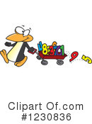 Royalty-Free (RF) Penguin Clipart Illustration #1230836