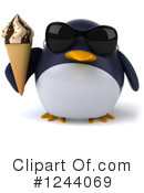 Penguin Clipart #1244069 by Julos