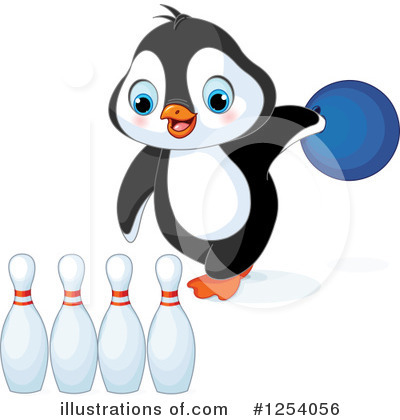 Penguin Clipart #1254056 by Pushkin