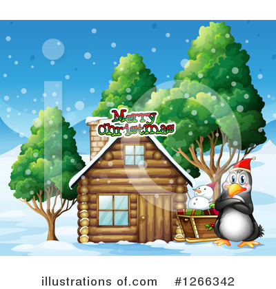 Cabin Clipart #1266342 by Graphics RF
