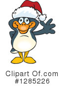 Penguin Clipart #1285226 by Dennis Holmes Designs