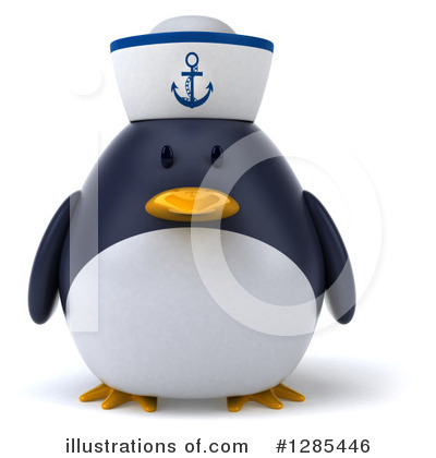 Penguin Clipart #1285446 by Julos