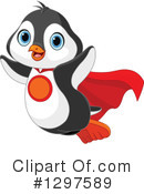 Penguin Clipart #1297589 by Pushkin