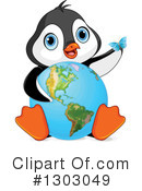 Royalty-Free (RF) Penguin Clipart Illustration #1303049