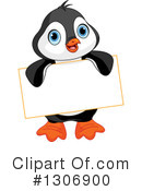 Penguin Clipart #1306900 by Pushkin