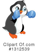 Royalty-Free (RF) Penguin Clipart Illustration #1312539