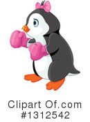 Penguin Clipart #1312542 by Pushkin