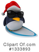 Penguin Clipart #1333893 by Julos