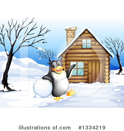 Cabin Clipart #1334219 by Graphics RF