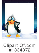 Penguin Clipart #1334372 by Graphics RF