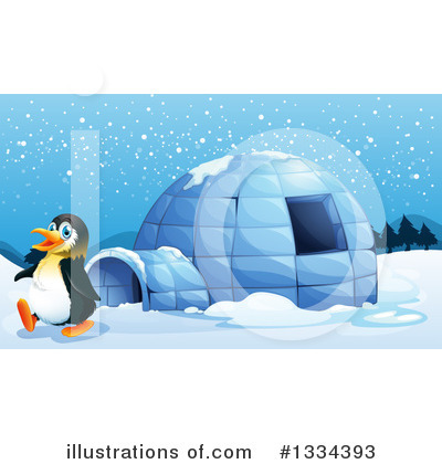 Igloo Clipart #1334393 by Graphics RF
