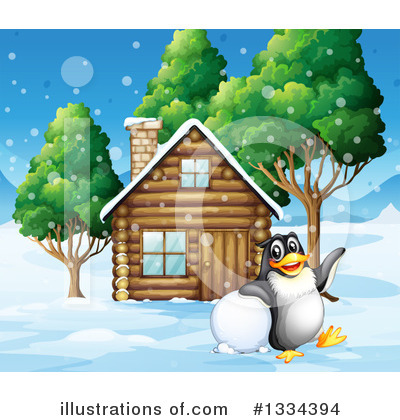 Cabin Clipart #1334394 by Graphics RF