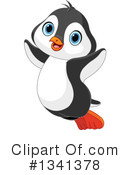 Penguin Clipart #1341378 by Pushkin
