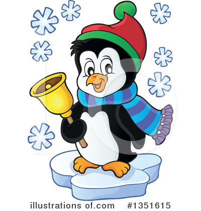 Penguin Clipart #1351615 by visekart