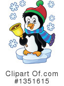 Royalty-Free (RF) Penguin Clipart Illustration #1351615