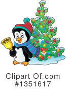 Penguin Clipart #1351617 by visekart