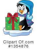 Royalty-Free (RF) Penguin Clipart Illustration #1354876