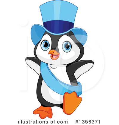 Penguin Clipart #1358371 by Pushkin